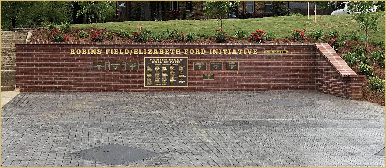 Robins Field/Elizabeth Ford Honor Wall