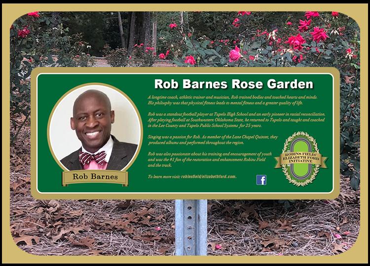 Rob Barnes Rose Garden