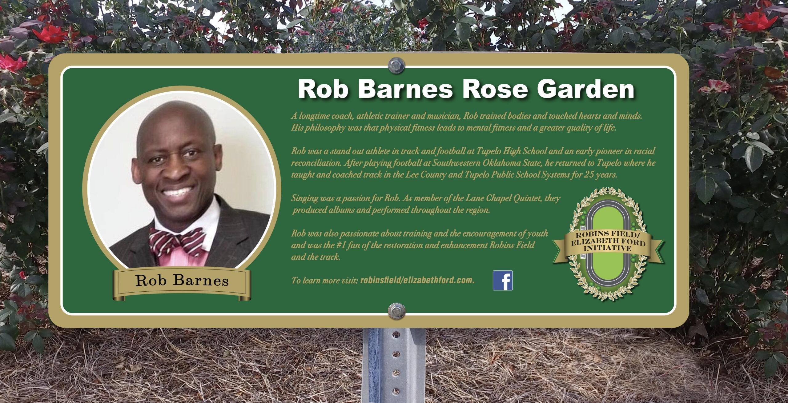 Ken Kirk Rose Garden Sign
